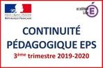 Continuité Pédagogique EPS 3ème Trimestre 2019-2020