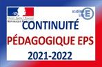 Continuité pédagogique et EPS 2021-2022
