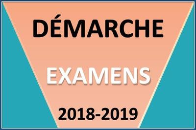 La saisie des ensembles certificatifs sur EPSNET et le dépôt du dossier examens sur Eduline se déroulent entre le 8 octobre et le 9 novembre 2018.