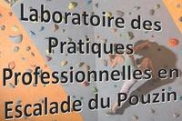 Laboratoire des pratiques professionnelles en escalade du Pouzin