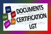 Documents Certification LGT